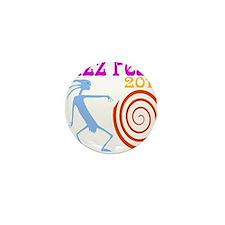Jazz Fest 2014 Spiral Mini Button
