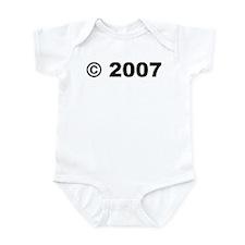 c 2007 Infant Bodysuit