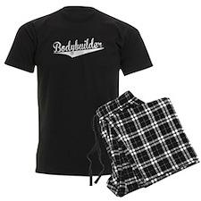 Bodybuilder, Retro, Pajamas