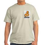 Feline Network Logo - Ash Grey T-Shirt