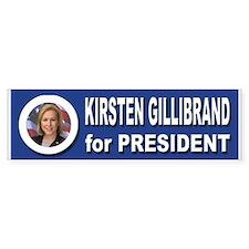 Kirsten Gillibrand for President Bumper Sticker