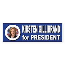 Kirsten Gillibrand for Pres Bumper Sticker