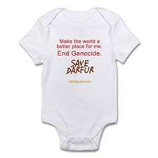 Save Darfur Onesie