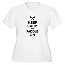 Keep calm and Pad T-Shirt