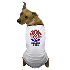 Croatia World Cup 2014 Dog T-Shirt