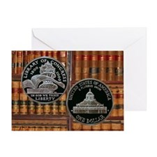 Library of Congress Dollar Greeting Card