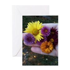 Array of Mums Greeting Card