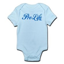 Pro-Life (blue) Infant Bodysuit