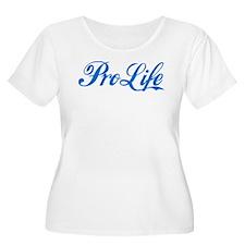 Pro-Life (blue) T-Shirt
