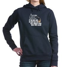 A Gun Is Like a Parachu Women's Hooded Sweatshirt