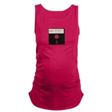 Never Forget Computer Floppy Disks Maternity Tank