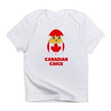 Canadian Chick, a Girl From Canada Infant T-Shirt