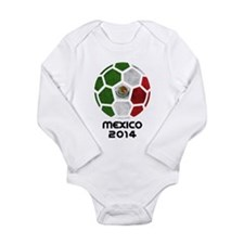 Mexico World Cup 2014 Long Sleeve Infant Bodysuit