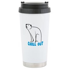 Chill Out Polar Bear Travel Mug