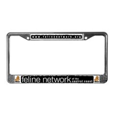 Feline Network Logo -  License Plate Frame