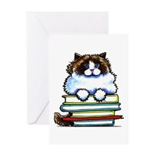 Ragdoll Cat Books Greeting Cards