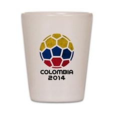 Colombia World Cup 2014 Shot Glass