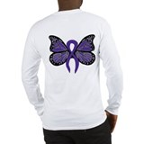 Relay For Life - Purple Ribbo Long Sleeve T-Shirt