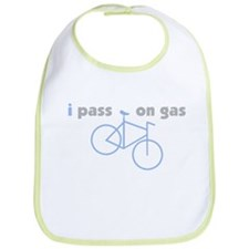 i pass on gas - Eco, Green Bib