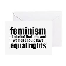 Feminist Greeting Card