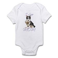Husky Mom Infant Bodysuit
