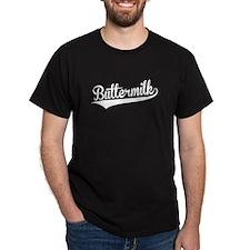 Buttermilk, Retro, T-Shirt