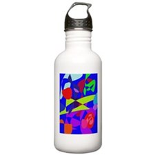 Colorful Fruits Water Bottle