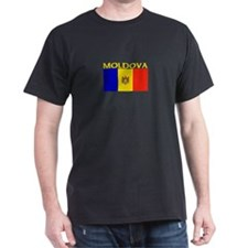 Moldova Flag II (Dark) T-Shirt