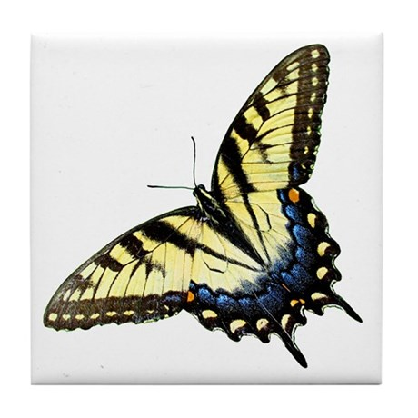 Butterfly 2 Tile Coaster