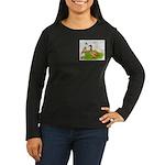 Egg and Meat Ducks Women's Long Sleeve Dark T-Shir
