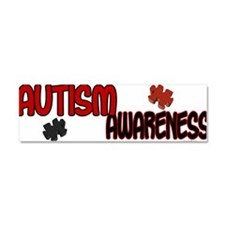 Cute Autism ribbon Car Magnet 10 x 3