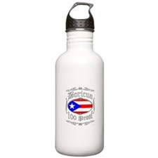 Boricua 100 Proof2 Water Bottle