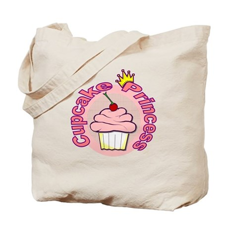 Cupcake Princess Tote Bag