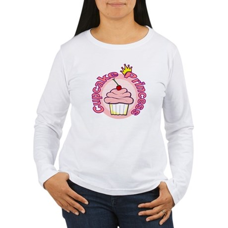 Cupcake Princess Women's Long Sleeve T-Shirt