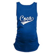 Coca, Retro, Maternity Tank Top
