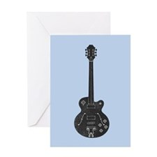 Spec Guitar Greeting Card