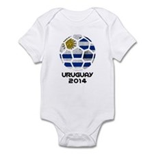 Uruguay World Cup 2014 Infant Bodysuit