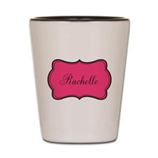 Personalizable Pink and Black Shot Glass