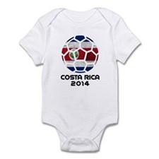 Costa Rica World Cup 2014 Infant Bodysuit