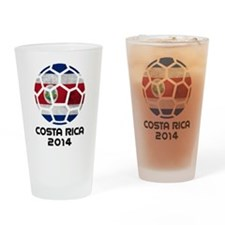 Costa Rica World Cup 2014 Drinking Glass