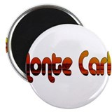 "Monte Carlo Sunset Type 2.25"" Magnet (10 pack)"