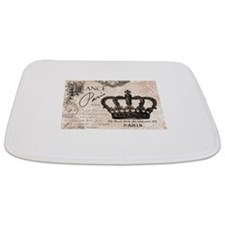 Modern Vintage French crown Bathmat