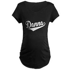Danna, Retro, Maternity T-Shirt