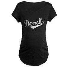 Darrell, Retro, Maternity T-Shirt