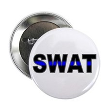 "Blue Line SWAT 2.25"" Button (10 pack)"