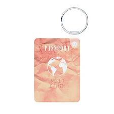 World Citizen Travel Passp Keychains