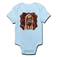 Hood Pug Infant Bodysuit