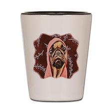 Hood Pug Shot Glass