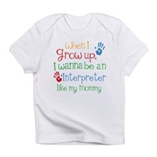 Interpreter Like Mommy Infant T-Shirt