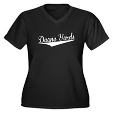 Duane Yards, Retro, Plus Size T-Shirt